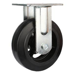Factory Rubber On Iron Caster For Sale