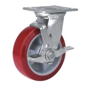 Factory Sale Heavy Duty Caster With Side Brake