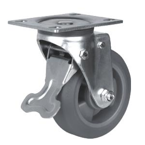 Factory Sale Swivel Heavy Duty Caster With Brake