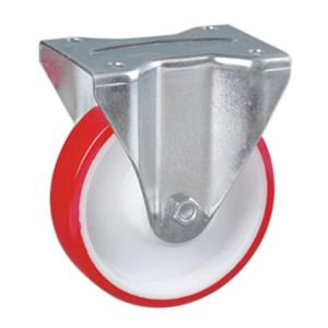 Factory Sale Fixed Pu Caster Wheels