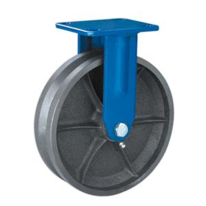 Factory Sale Rigid V Groove Cast Iron Casters Wheels