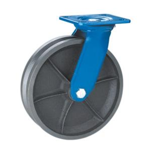 Factory Sale Swivel V Groove Cast Iron Casters Wheels