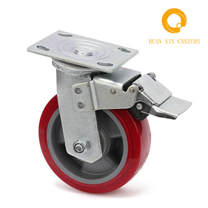 Best Factory Sale PU Heavy Duty Caster