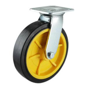Facory Sale Heavy Duty Non Marking Rubber Wheels
