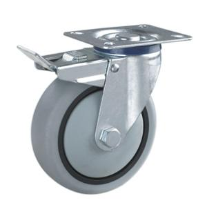 Factory Sale Trolley wheels with brake In China