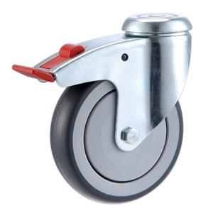 Hollow Kingpin Caster Wheels Manufacturer In China