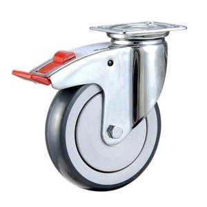 Soft rubber caster wheels Manufacturer In China