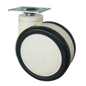 Dual Wheel Casters For Furniture