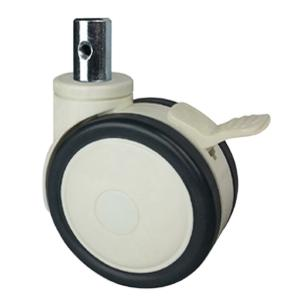 Dual wheel casters for hospital bed factory