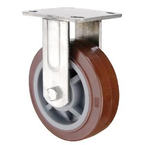 Fixed Stainless Steel Pu Casters