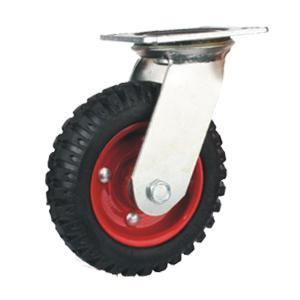Flat Free Swivel Rubber Caster