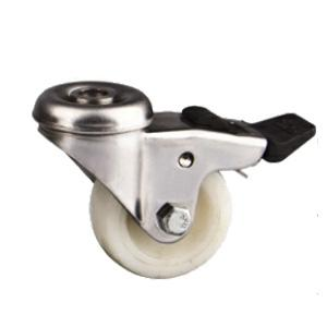 Hollow King Pin Stainless Steel Caster