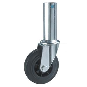 Hollow stem scaffold caster wheels factory