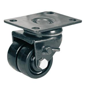 Low Profile Double Casters