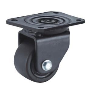 Low profile plate caster wheels factory