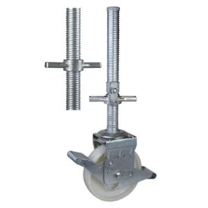 Nylon Scaffold Casters With Hollow Screw Stem