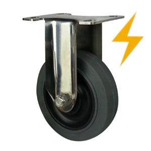 Rigid Antistatic casters wheels factory