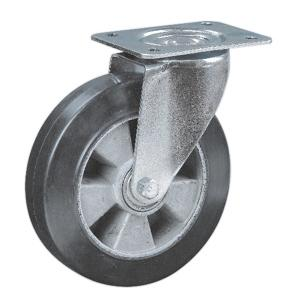 Rubber Coated On Aluminum Core Casters