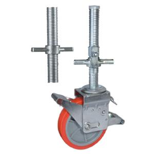Scaffold caster wheels with screw stem factory