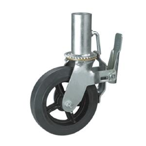 Scaffold caster with hollow stem factory