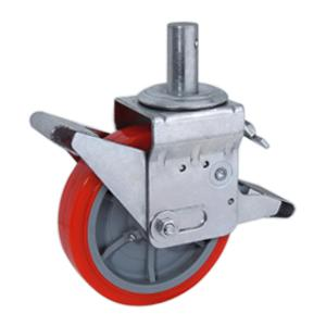Scaffold pu caster wheels factory