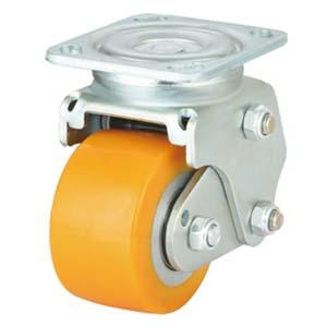 Shock Absorbing AGV Casters