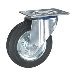 Solid Rubber Caster Wheels