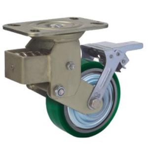 Spring Loaded Casters With Brake