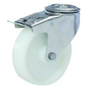 Stainless Steel Caster With Total Locking