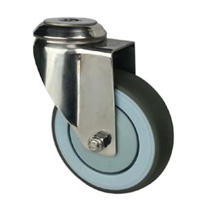 Stainless steel casters with screw hole factory