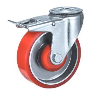 Factory Sale Bolt Hole Trolley Castors