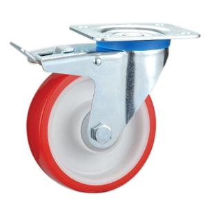 Factory Sale Dolly casters with total lock manufacturer