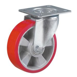 Polyurethane Coated On Aluminum Core Casters