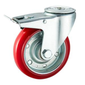 Factory Sale Dolly Casters With Brake