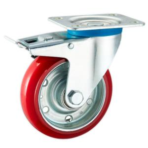 Factory Sale Platform Hand Trolley Casters